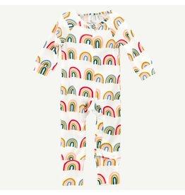 Oliver & Rain Oliver & Rain | Rainbow Print Union Suit