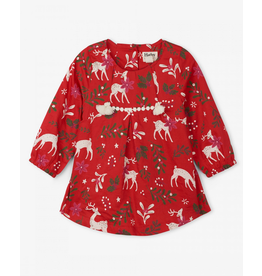 Hatley Hatley | Mistletoe Deer Party Dress