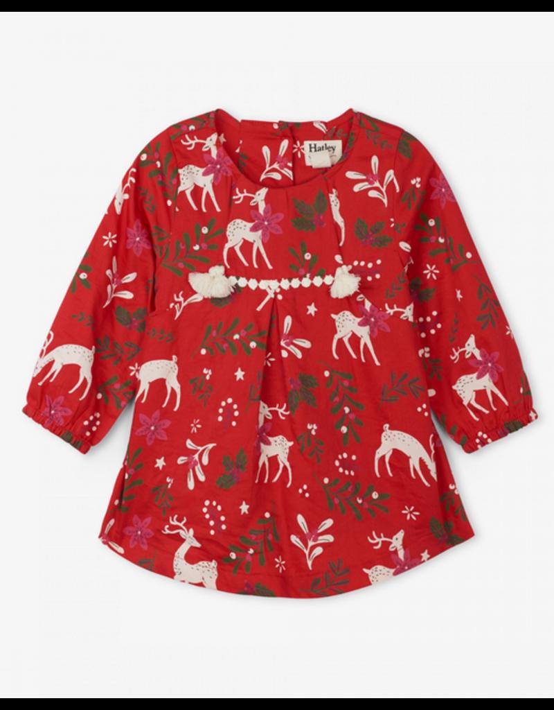 Hatley Hatley | Mistletoe Deer Party Dress