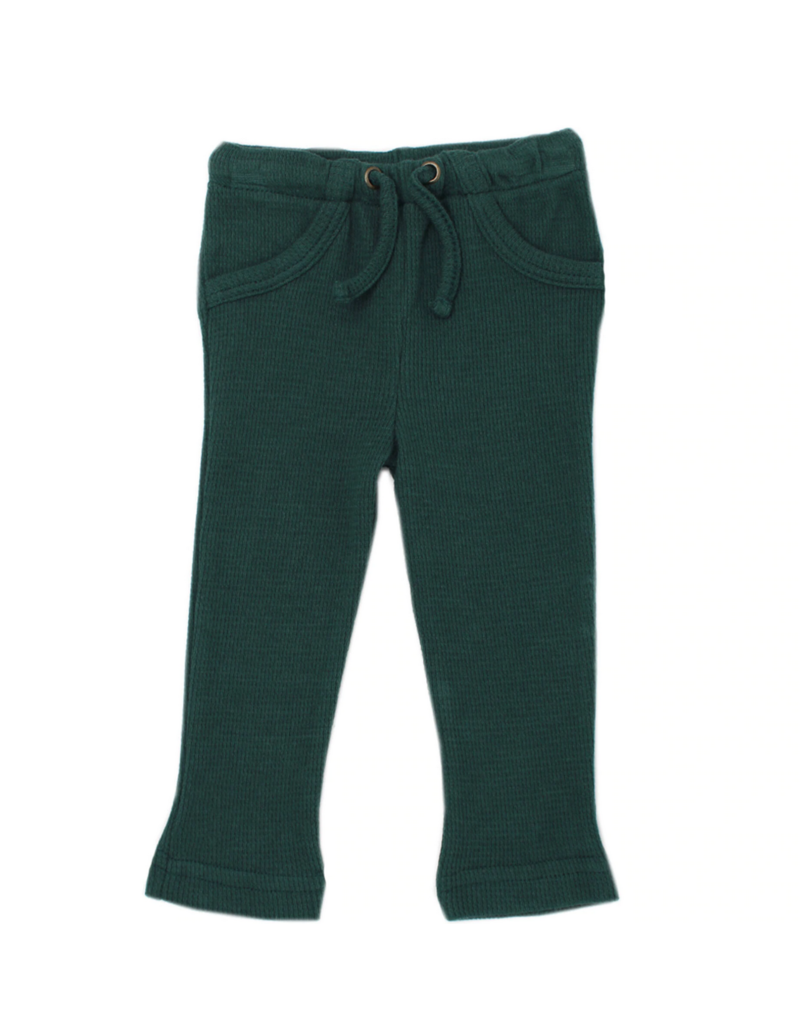 L'oved Baby | Kids Thermal Pants in Pine