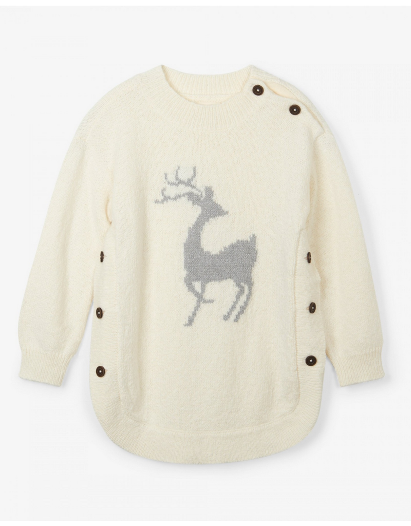 Hatley Hatley | Mistletoe Deer Sweater