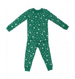 Skylar Luna | Organic Forest Stars Pajamas