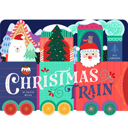 Christmas Train Unfolding Book