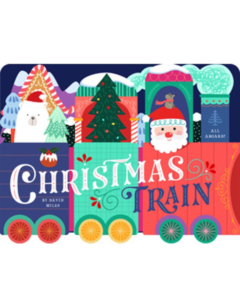 Christmas Train Unfolding Book