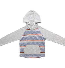 Bear Camp Bear Camp | Striped Henley Hoodie