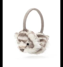 JellyCat JellyCat | Sacha Snow Tiger Earmuffs