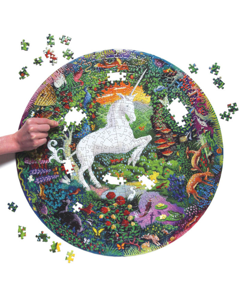 eeBoo eeboo   Unicorn Garden 500 Piece Puzzle