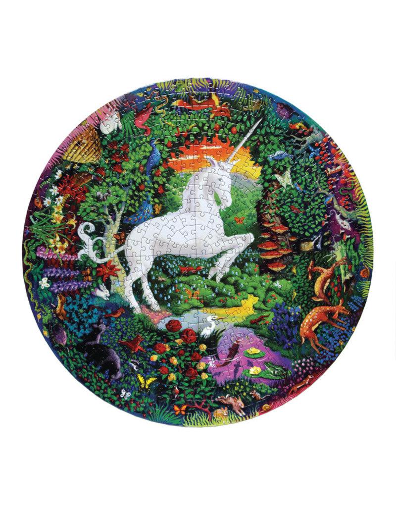 eeBoo eeboo | Unicorn Garden 500 Piece Puzzle