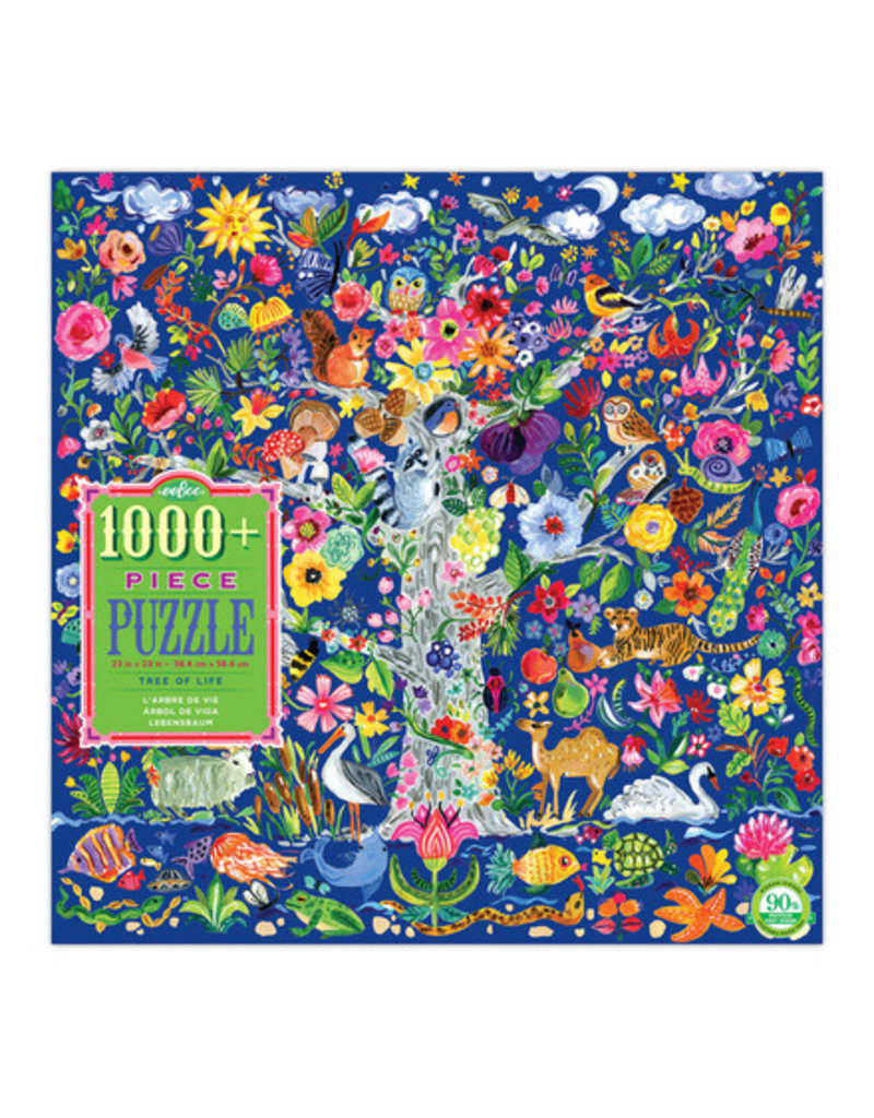eeBoo eeboo | Tree of Life 1000 Piece Puzzle
