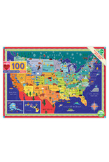 eeBoo Eeboo | This Land is Your Land 100 Piece Puzzle