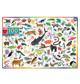 eeBoo Eeboo | Beautiful World 100 Piece Puzzle