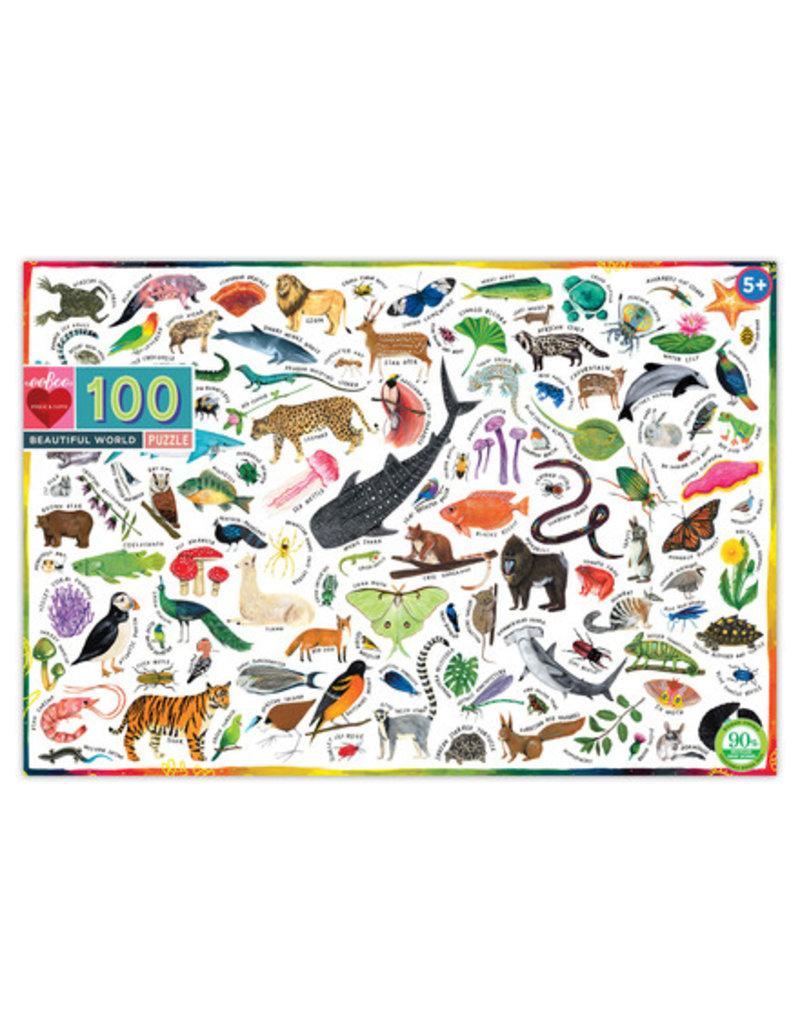 eeBoo Eeboo | Beautiful World 100 Piece Puzzle
