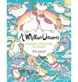 A Million Unicorns   Coloring Book