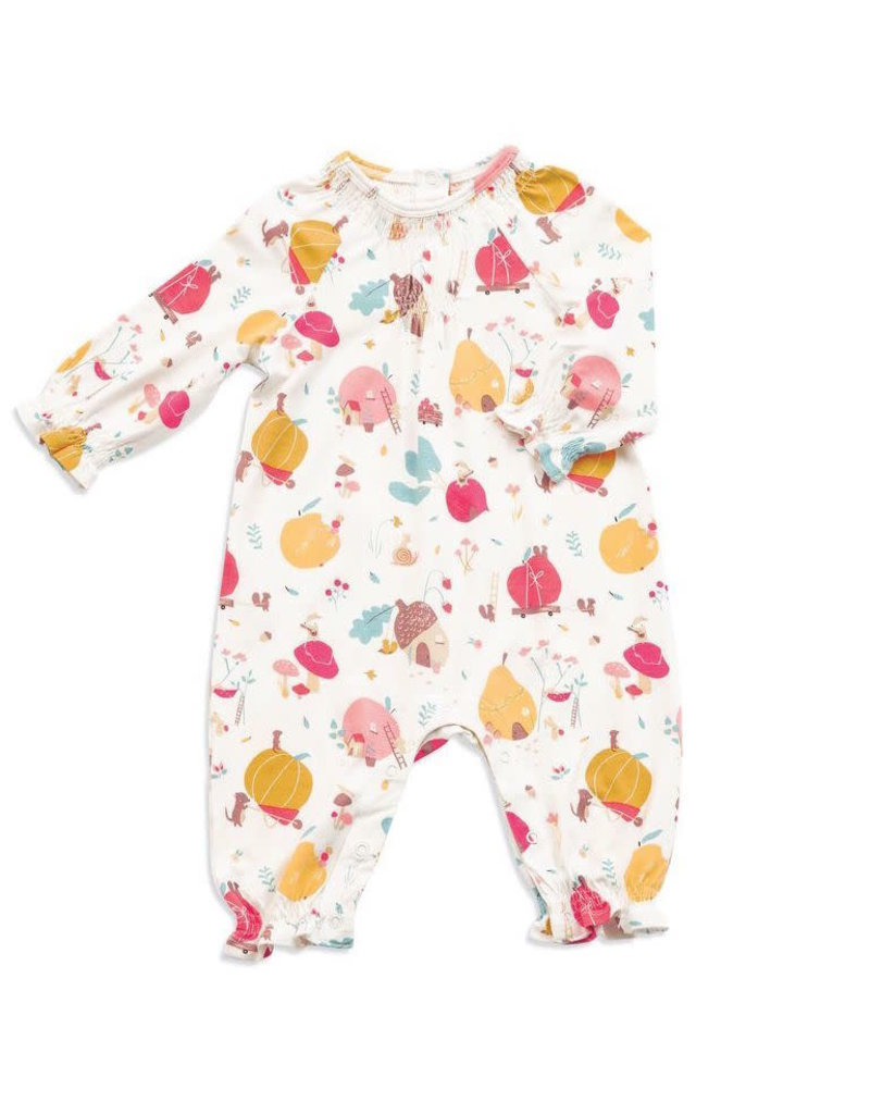 Angel Dear Angel Dear |Fruit Homes Smocked Romper