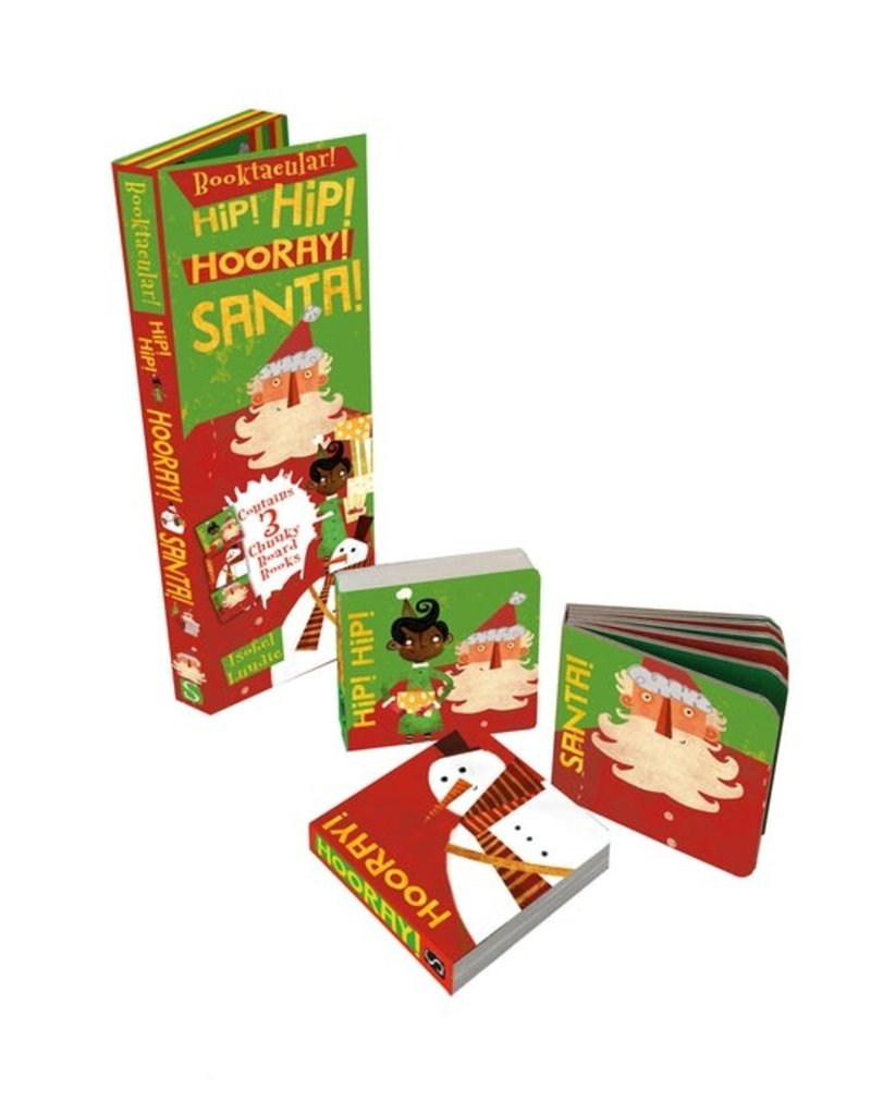 Hip Hip Hoooray! Santa! | Board Book Set