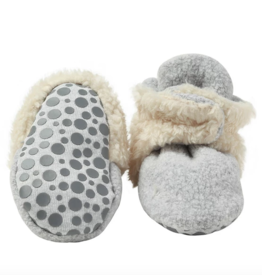Zutano Zutano | Gripper Cozie Furry Baby Bootie with
