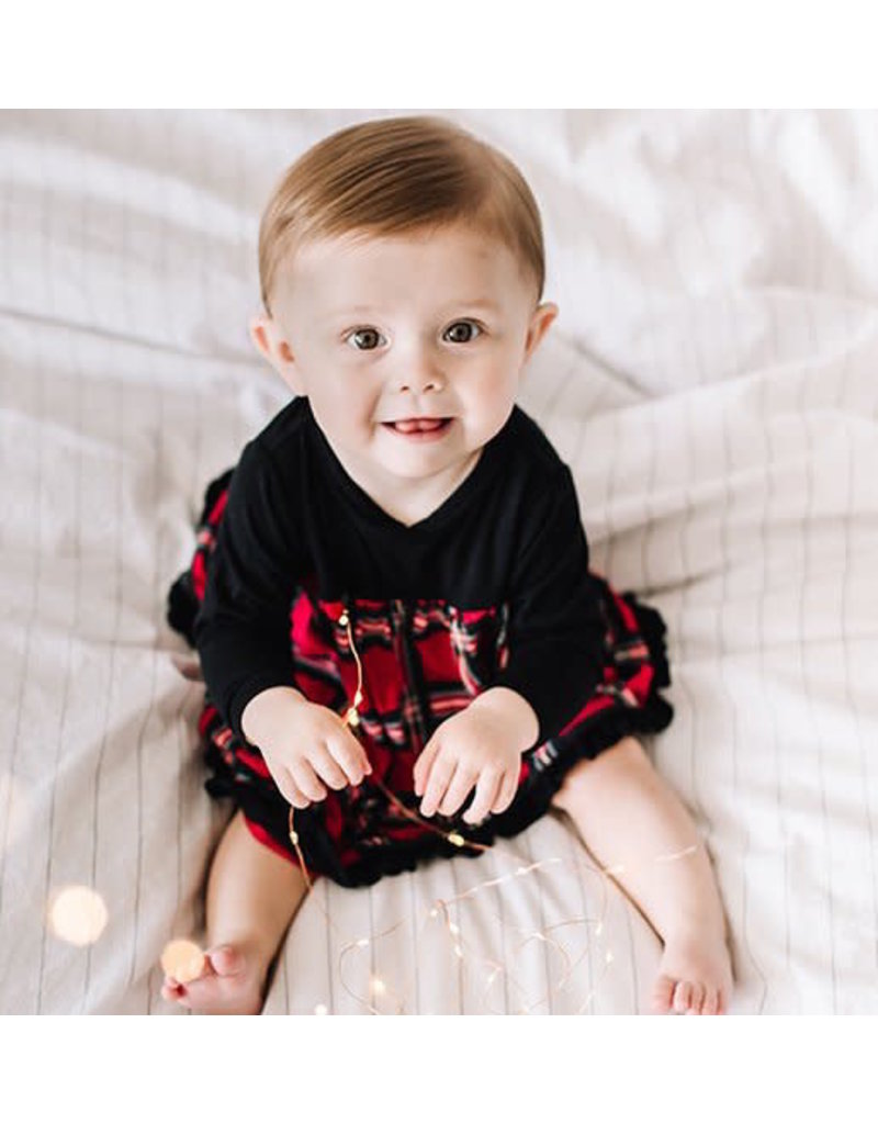 Kickee Pants Kickee Pants| Christmas Plaid Swing Dress