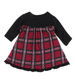 Kickee Pants Kickee Pants| Christmas Plaid Swing Dress