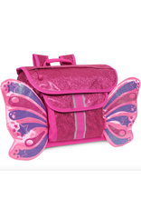BIXBEE | Sparkalicious Raspberry Butterflyer Backpack Small