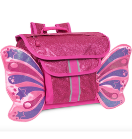 BIXBEE | Sparkalicious Raspberry Butterflyer Backpack Small
