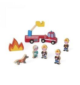 Janod Janod Mini Story | Firefighters