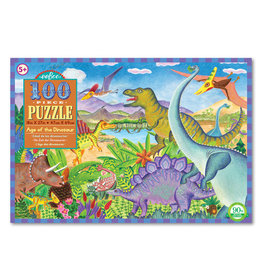 eeBoo Eeboo | Age of the Dinosaur 100 Piece Puzzle