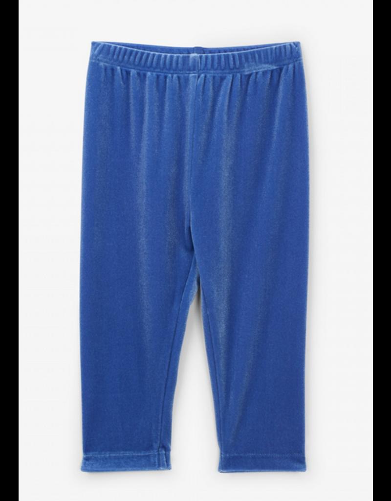 Hatley Hatley | Sky Blue Velour Leggings