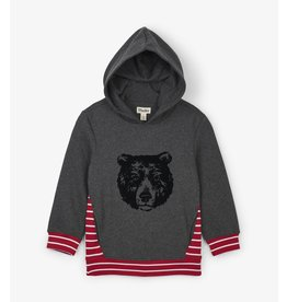 Hatley Hatley | Grizzly Bear Hooded Pullover