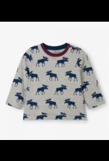 Hatley Hatley | Moose Silhouette Baby Tee