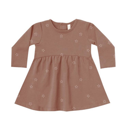 Quincy Mae | Organic Fleece Star Dress