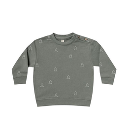 Quincy Mae | Organic Pine Fleece Top