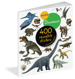 Workman Publishing Eyelike Dinosaurs Sticker Book