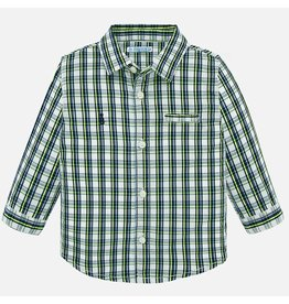 Mayoral Mayoral | Plaid Baby Shirt