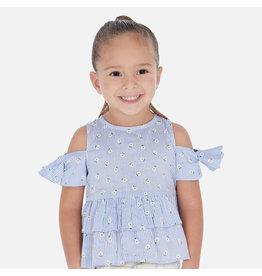 Mayoral Mayoral | Open Shoulder Toddler Blouse