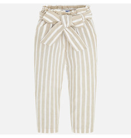 Mayoral Mayoral | Striped Paper Bag Pants