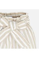 Mayoral Mayoral   Striped Paper Bag Pants