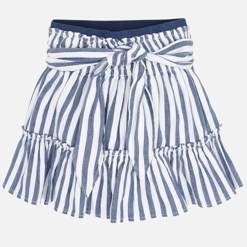 Mayoral Mayoral | Tie Waist Tiered Skirt