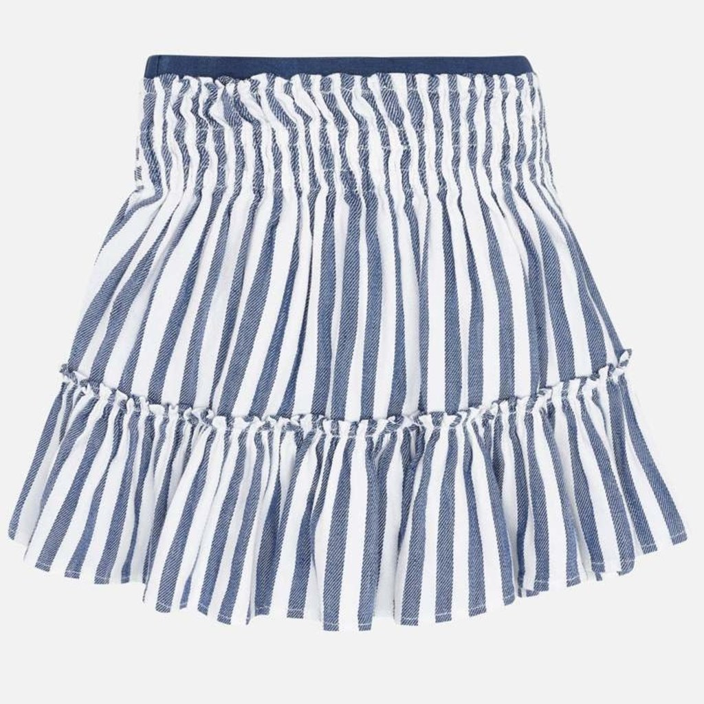 Mayoral Mayoral   Tie Waist Tiered Skirt