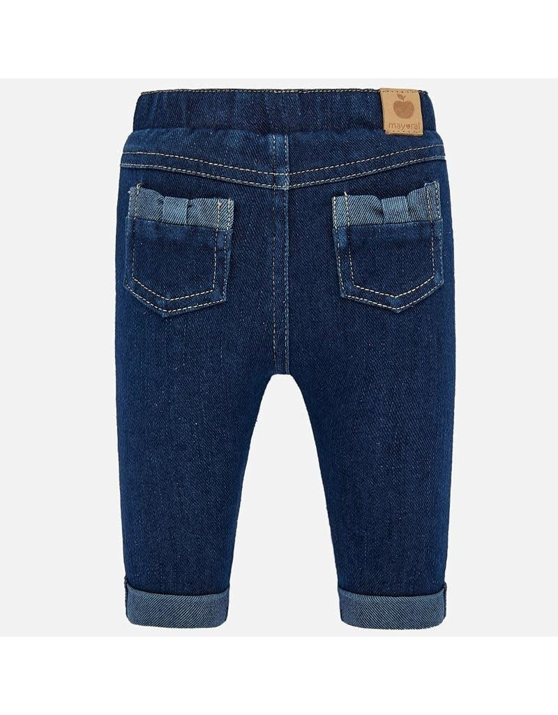 Mayoral Mayoral | Bow Detail Denim Jegging