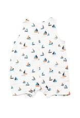 Angel Dear Angel Dear | Simple Boats Sleeveless Shortie Romper
