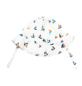 Angel Dear Angel Dear | Simple Boats Muslin Sun Hat