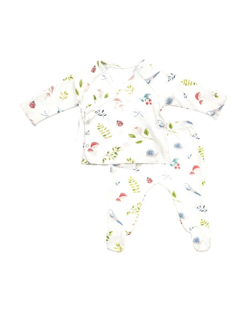 Angel Dear Angel Dear | Nature's Notebook Organic Newborn Set