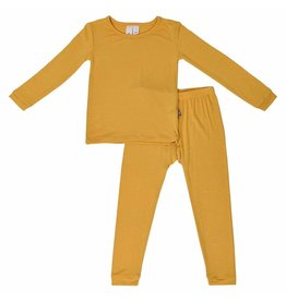 Kyte Baby Kyte Baby | Solid Pajamas in Mustard