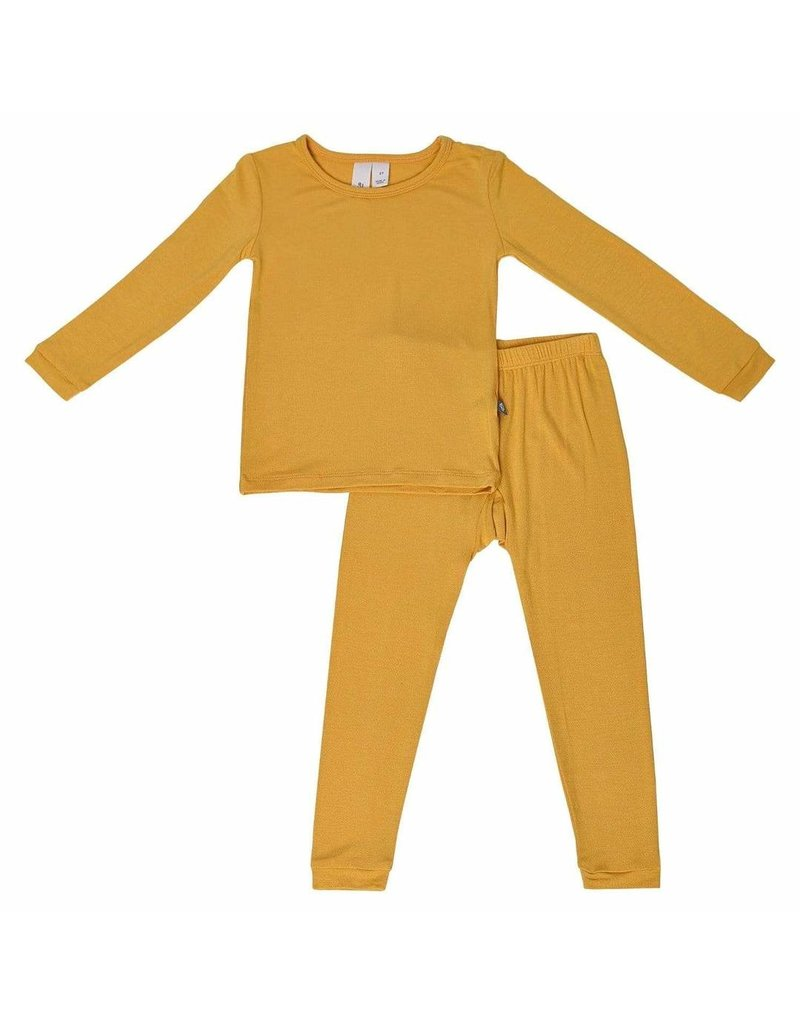 Kyte Baby Kyte Baby|Solid Pajamas in Mustard