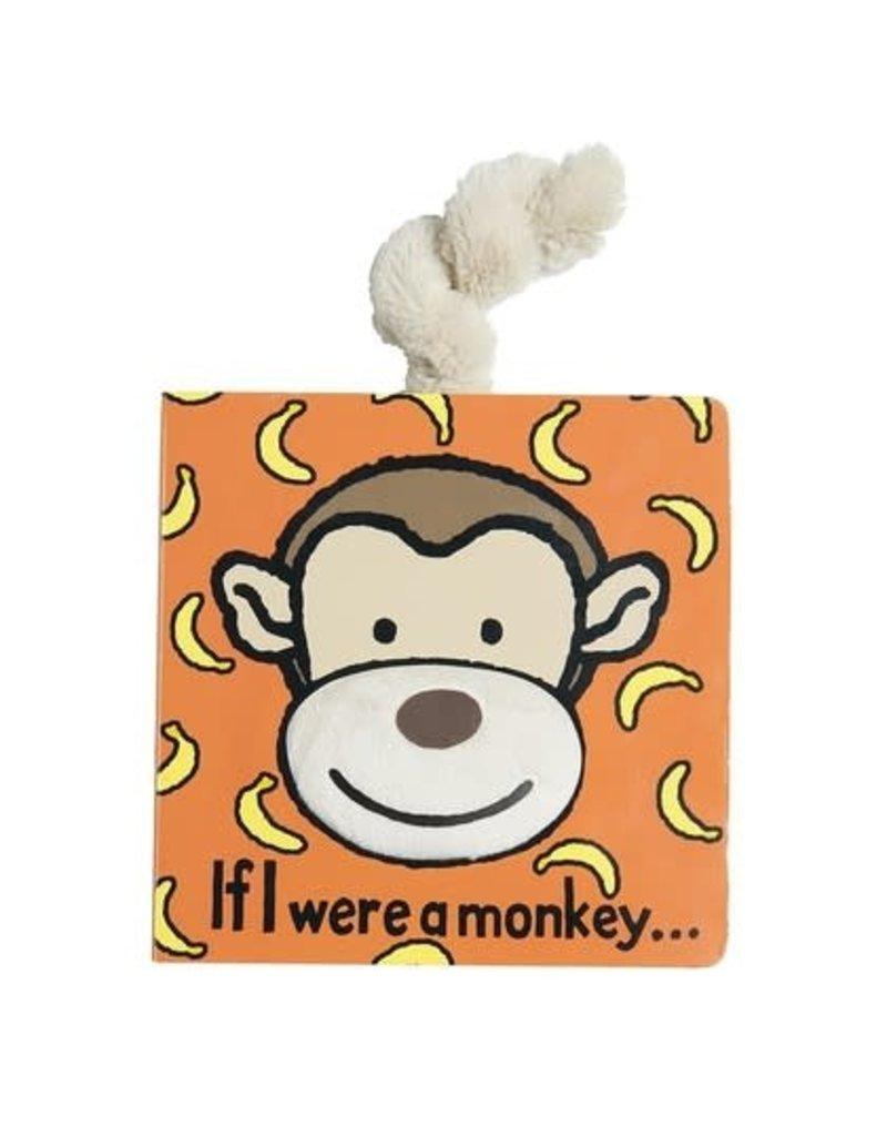JellyCat JellyCat | If I Were A Monkey Board Book