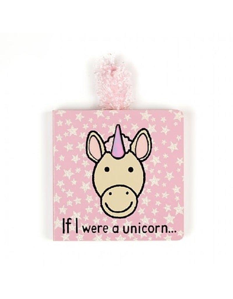 JellyCat JellyCat | If I Were A Unicorn Board Book