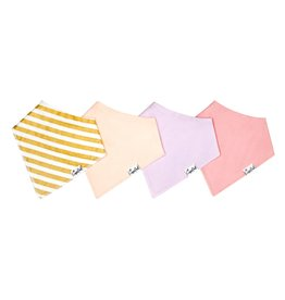 Copper Pearl Copper Pearl | 4-Pack Bandana Bib Set Sweetheart
