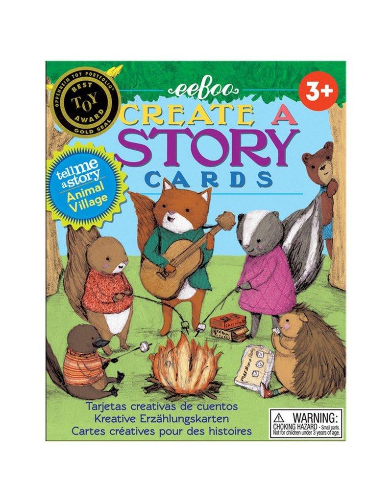 eeBoo create a story animal village