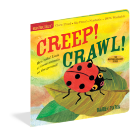 Workman Publishing Indestructibles | Creep! Crawl!