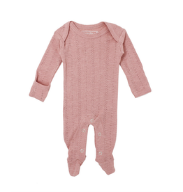 L'oved Baby | Pointelle Lap-Shoulder Footie